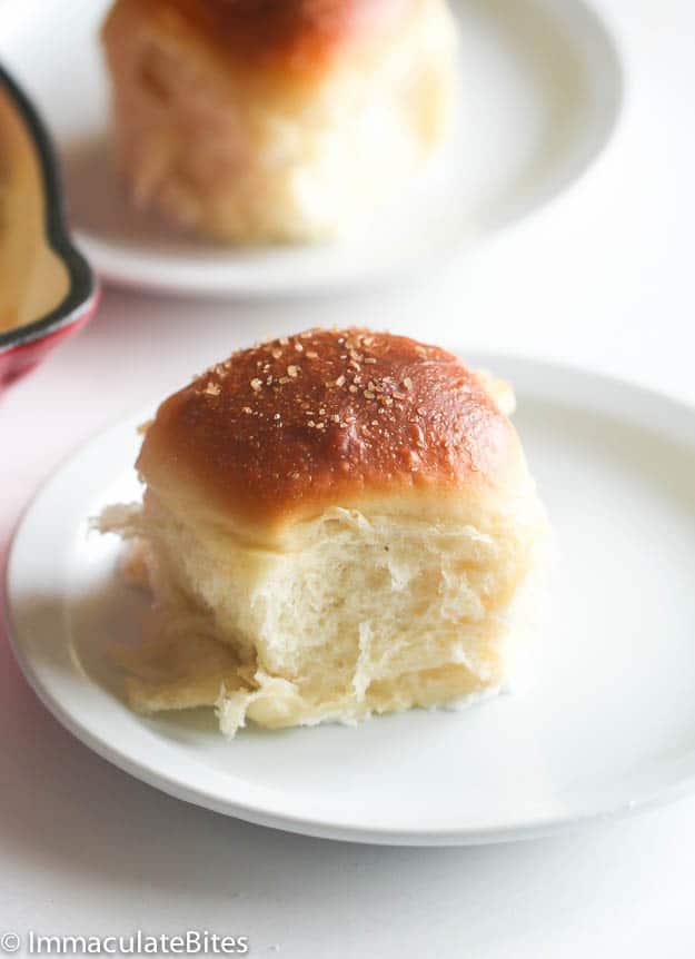 Samoan Coconut Bread rolls