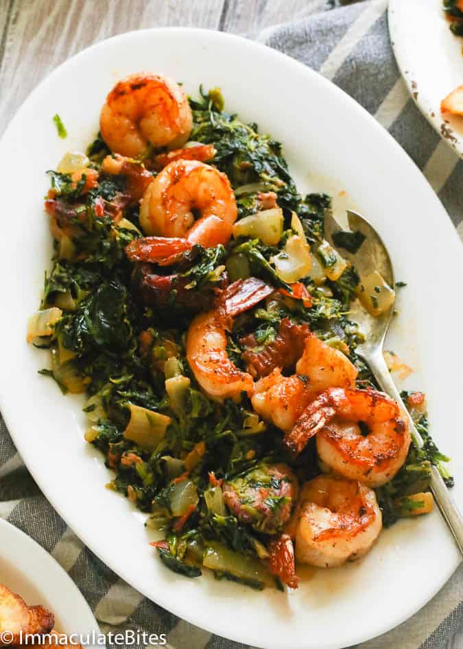Stewed Spinach  African Style    Immaculate Bites If at times you get caught in a rut doing the same recipes over and over  again  here is an African spinach dish that is easy to make  any time of  the