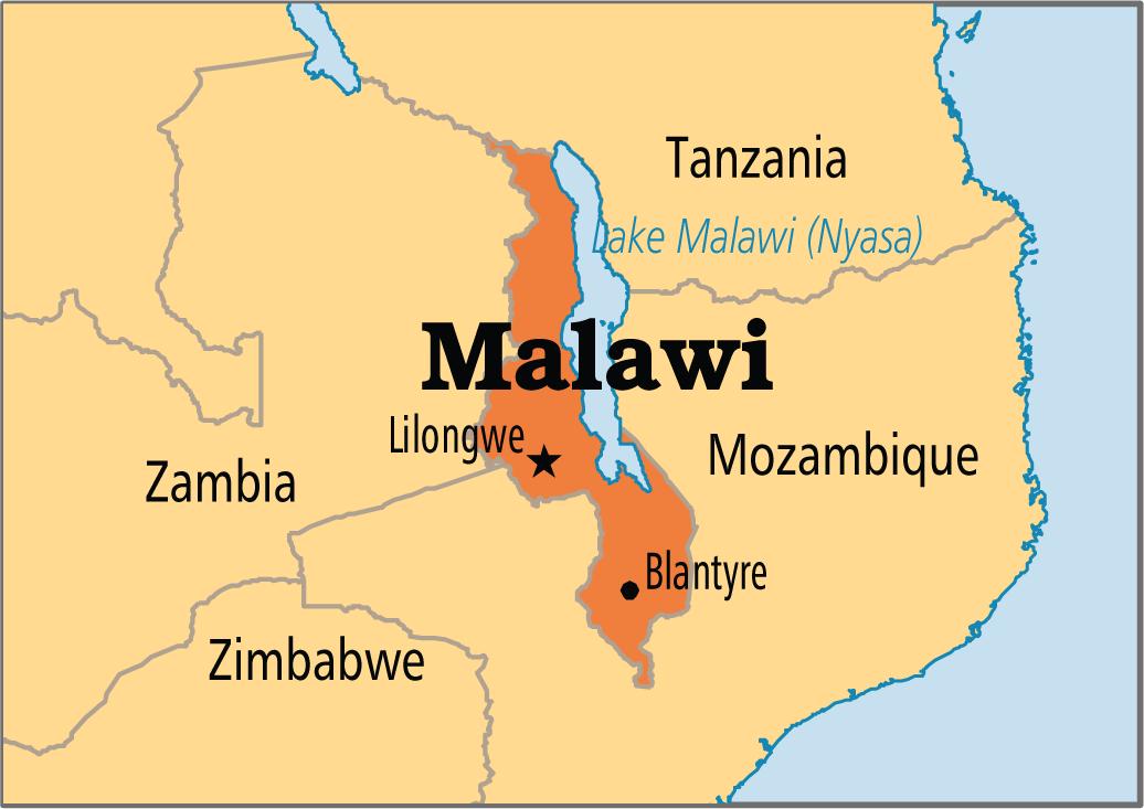 Lake Malawi Africa Map.Malawi African Child Trust