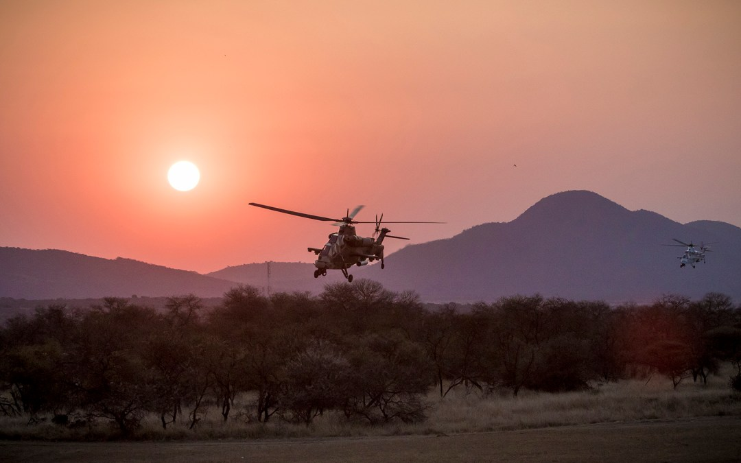 Rooivalks may return from the DRC