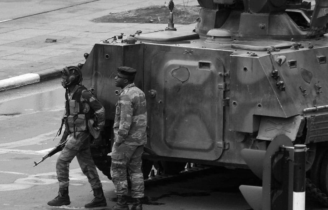 A timeline of the coup in Zimbabwe