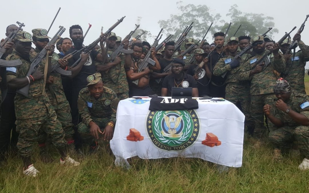 Brief imagery analysis: 'Ambazonia Defence Forces' propaganda picture