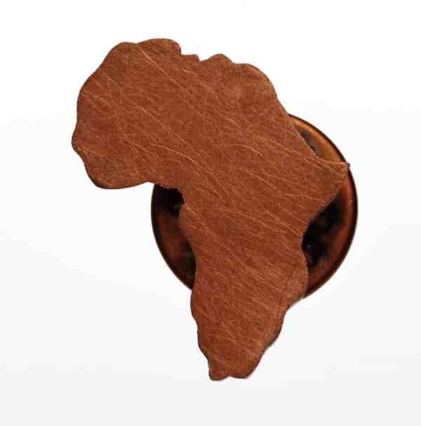 Africa Copper Brooch