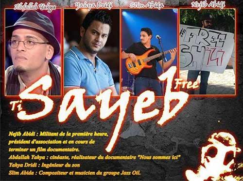 free-sayeb-tunisia-repressione