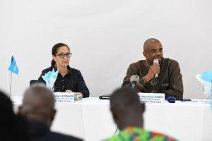 UNICEF en Côte d'Ivoire: Dr. Aboubacar Kampo s'en va…
