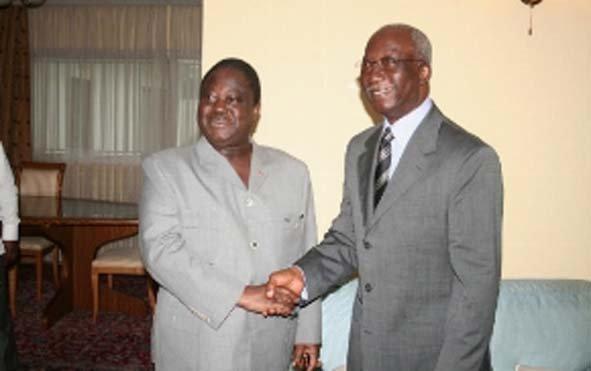 Deuil: «Seydou Élimane DIARRA était investi dans la quête permanente de la paix en Côte d'Ivoire» (Henri Konan Bédié)