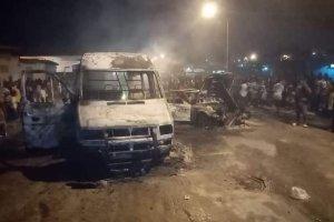 Abidjan: Déluge de feu à Yopougon, plusieurs véhicules incendiés