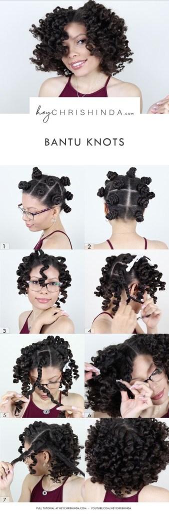 Easy diy natural hair styles 6