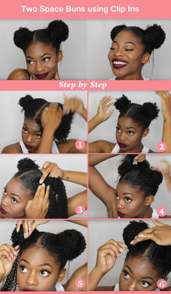 Easy diy natural hair styles 8