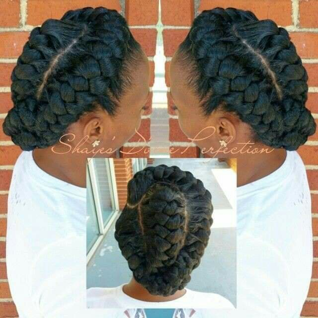 Protective hair styles