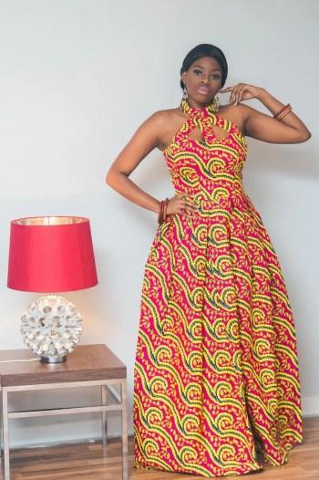 New stylish ankara maxi dresses