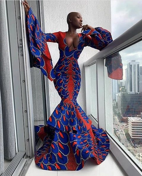 Elegant ankara mermaid gowns