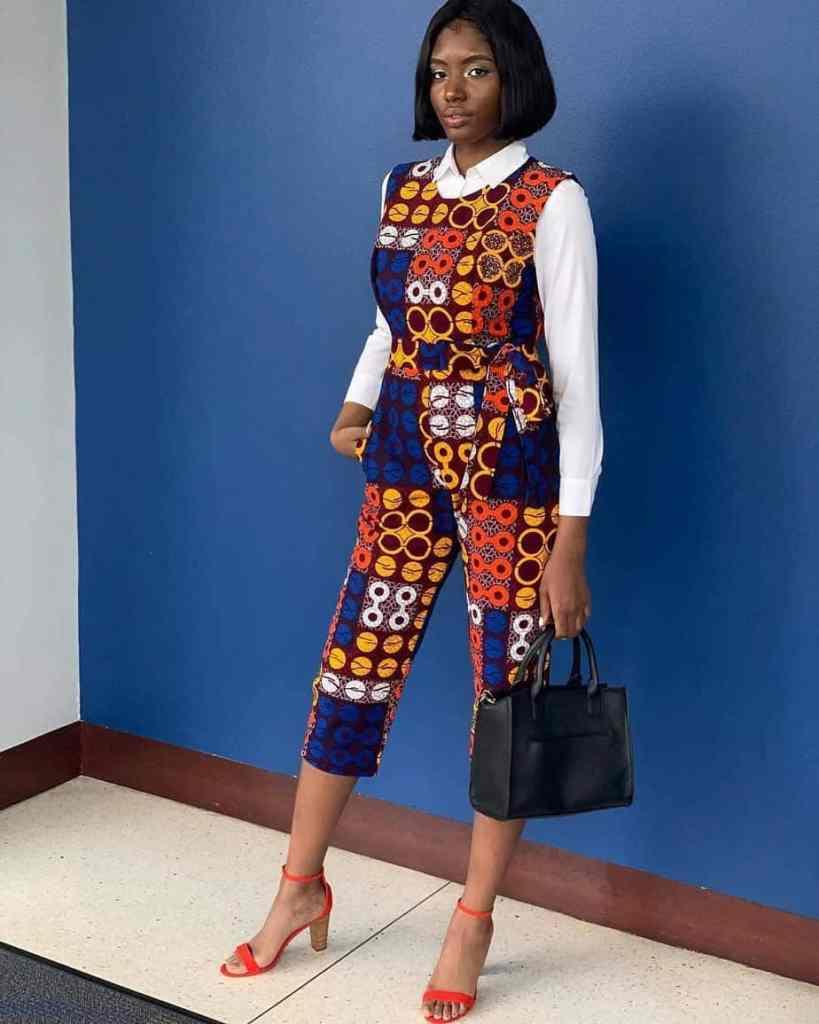 THE BEST ANKARA DRESS STYLES IN 2019 69