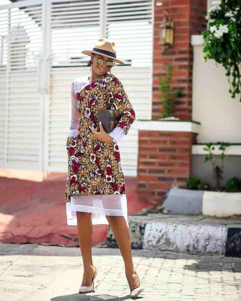 THE BEST ANKARA DRESS STYLES IN 2019 70