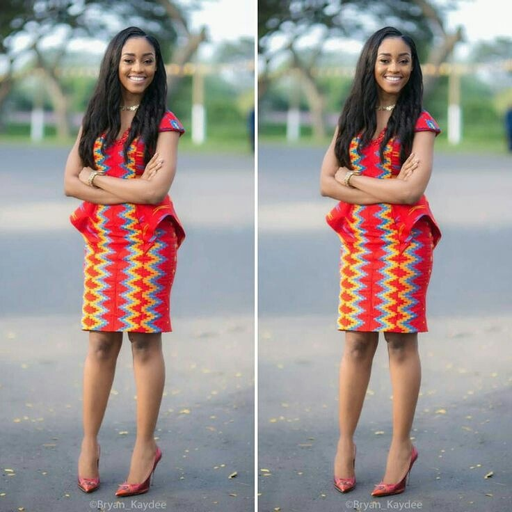 Stylish kente styles