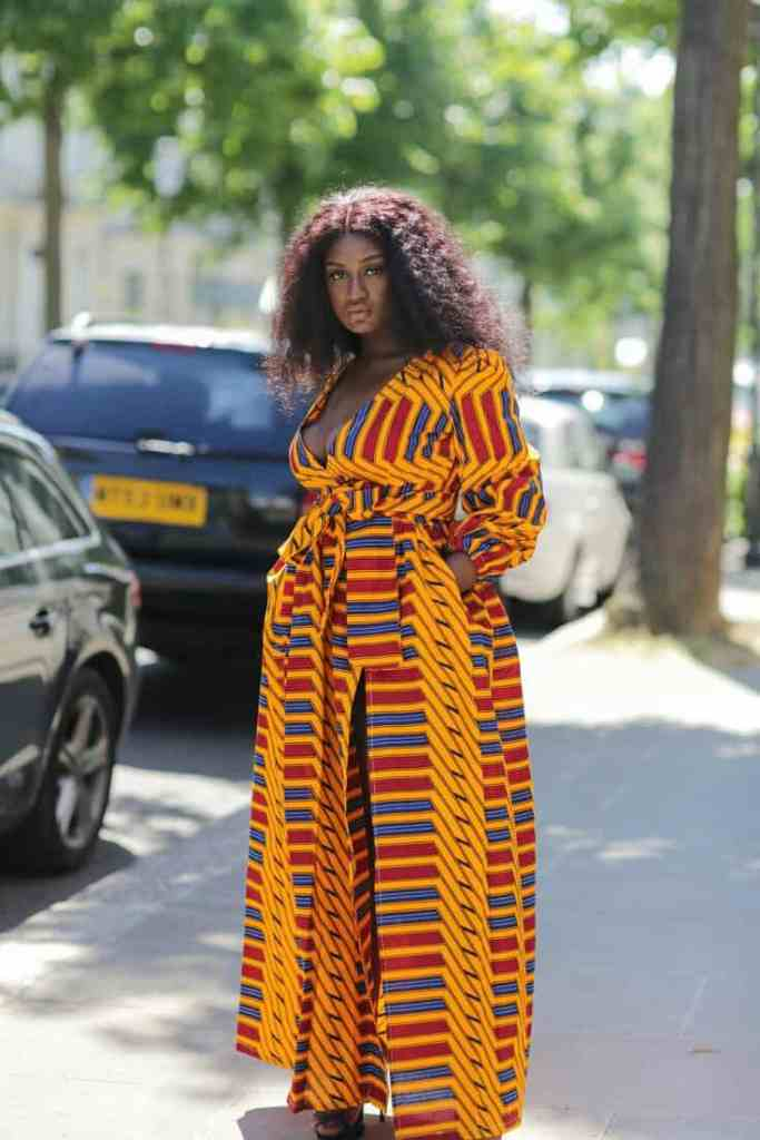 Plus size Ankara dresses 14