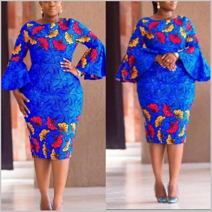 New stylish and trendy ankara dresses