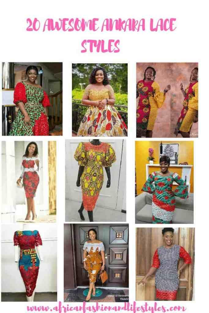 20 AWESOME ANKARA LACE DRESS STYLES 2019 8