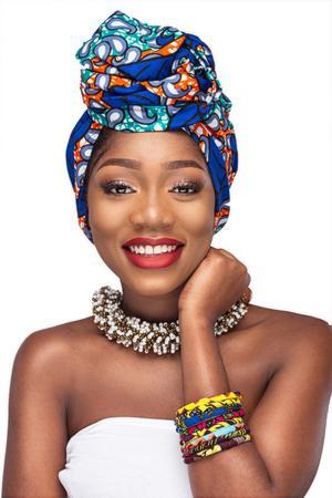 BEAUTIFUL AND STYLISH AFRICAN ANKARA HEAD WRAPS 19