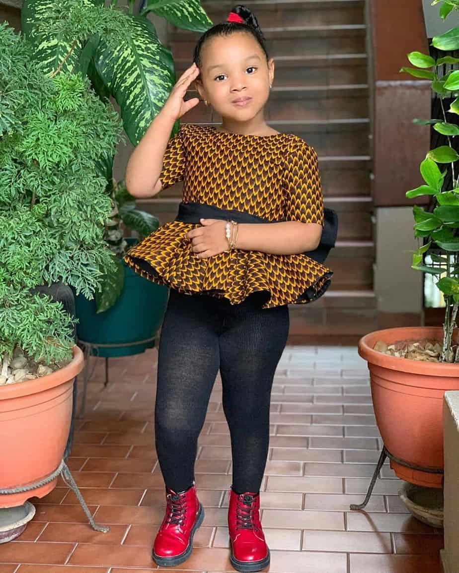 BEAUTIFUL ANKARA STYLES FOR KIDS 2019 21