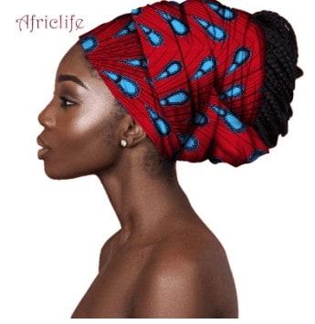 BEAUTIFUL AND STYLISH AFRICAN ANKARA HEAD WRAPS 24