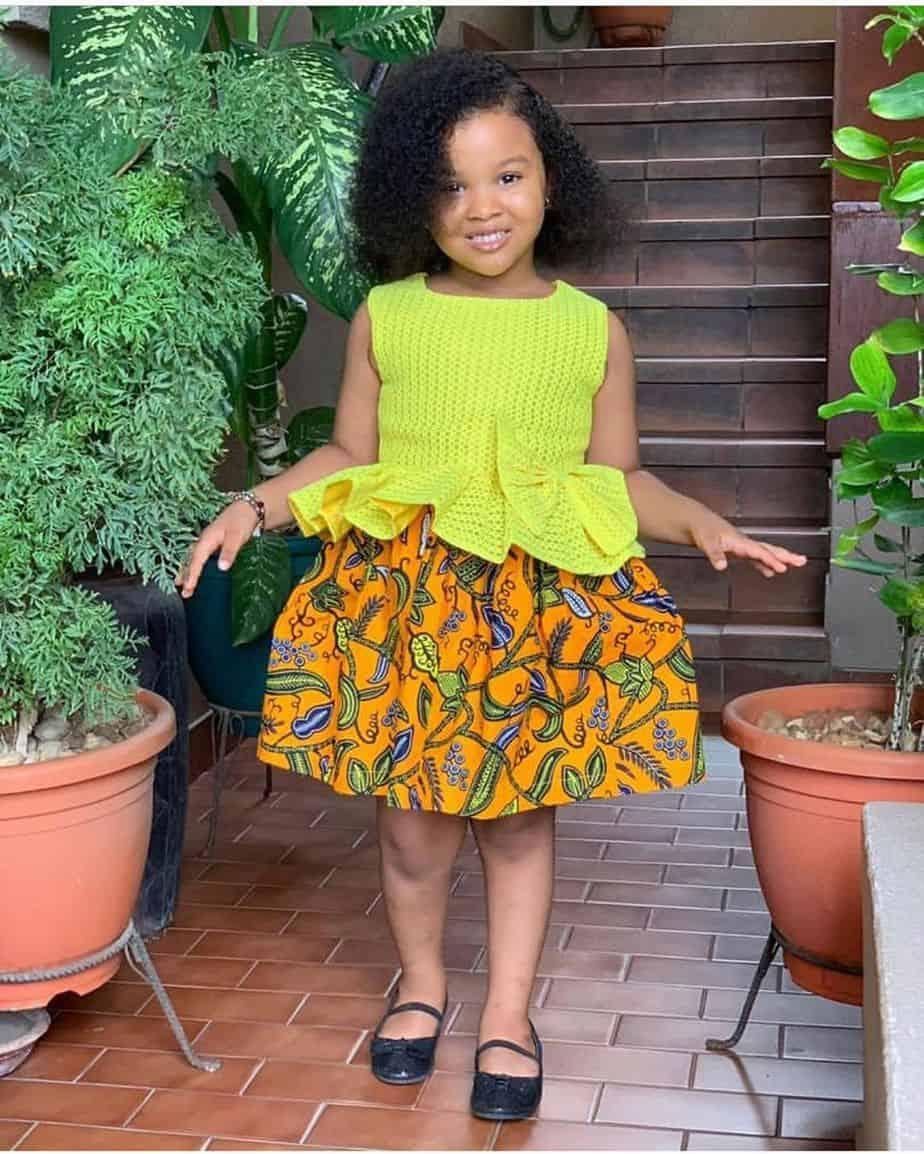 BEAUTIFUL ANKARA STYLES FOR KIDS 2019 25