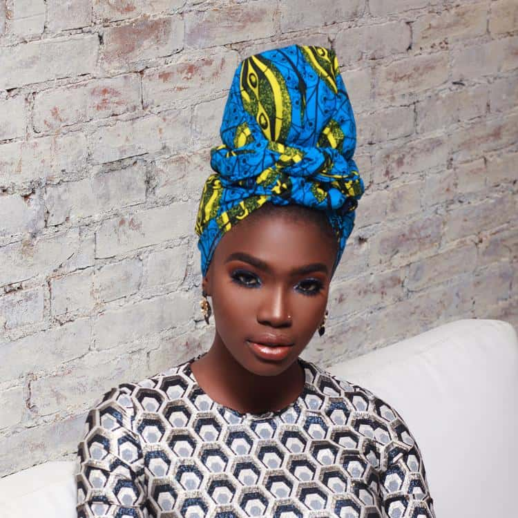 BEAUTIFUL AND STYLISH AFRICAN ANKARA HEAD WRAPS 6