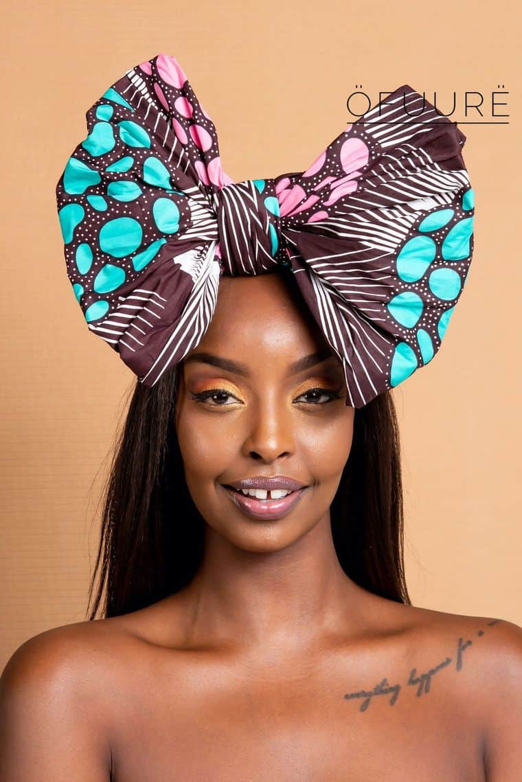 BEAUTIFUL AND STYLISH AFRICAN ANKARA HEAD WRAPS 11