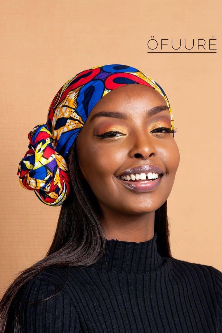 BEAUTIFUL AND STYLISH AFRICAN ANKARA HEAD WRAPS 13