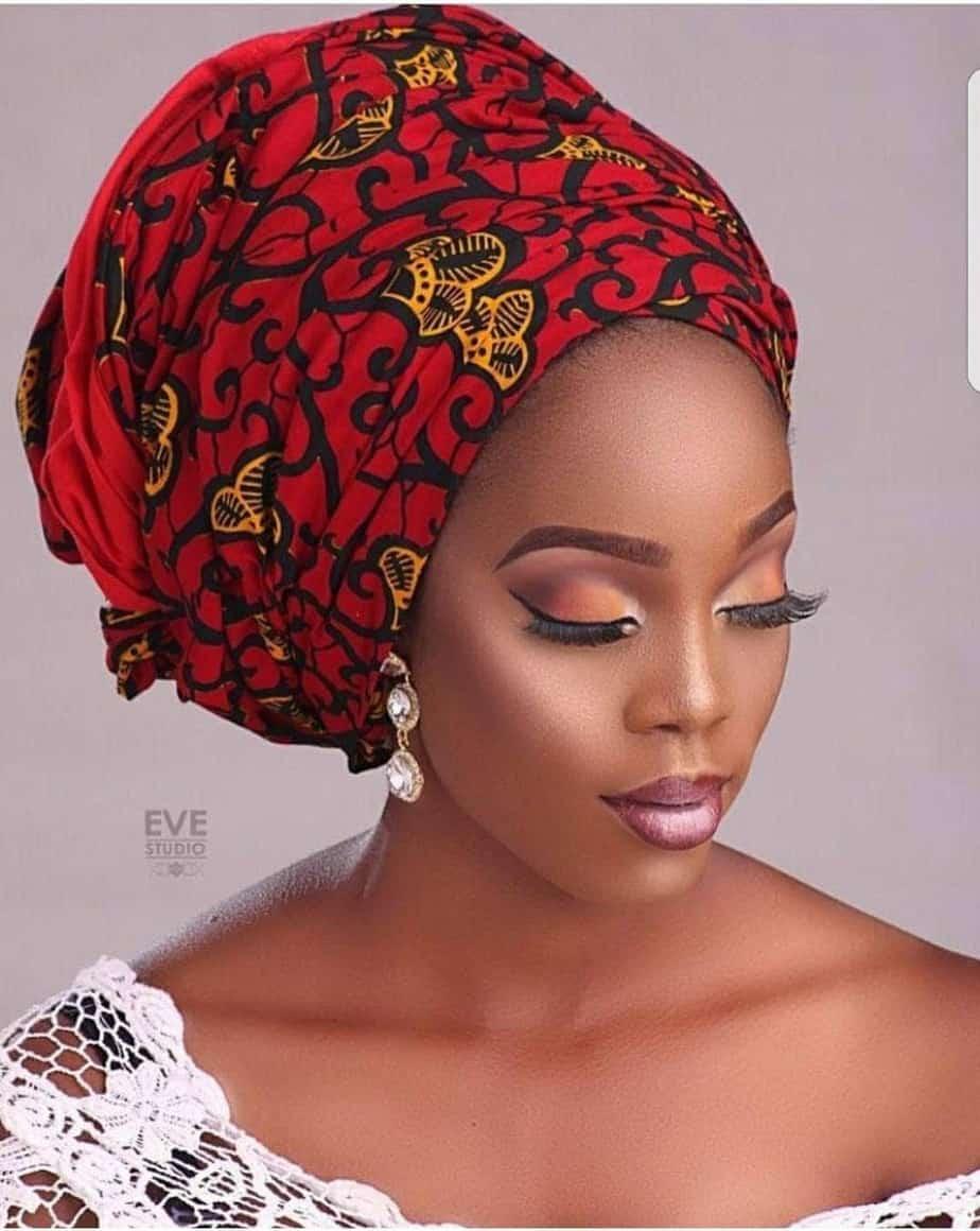 BEAUTIFUL AND STYLISH AFRICAN ANKARA HEAD WRAPS 25