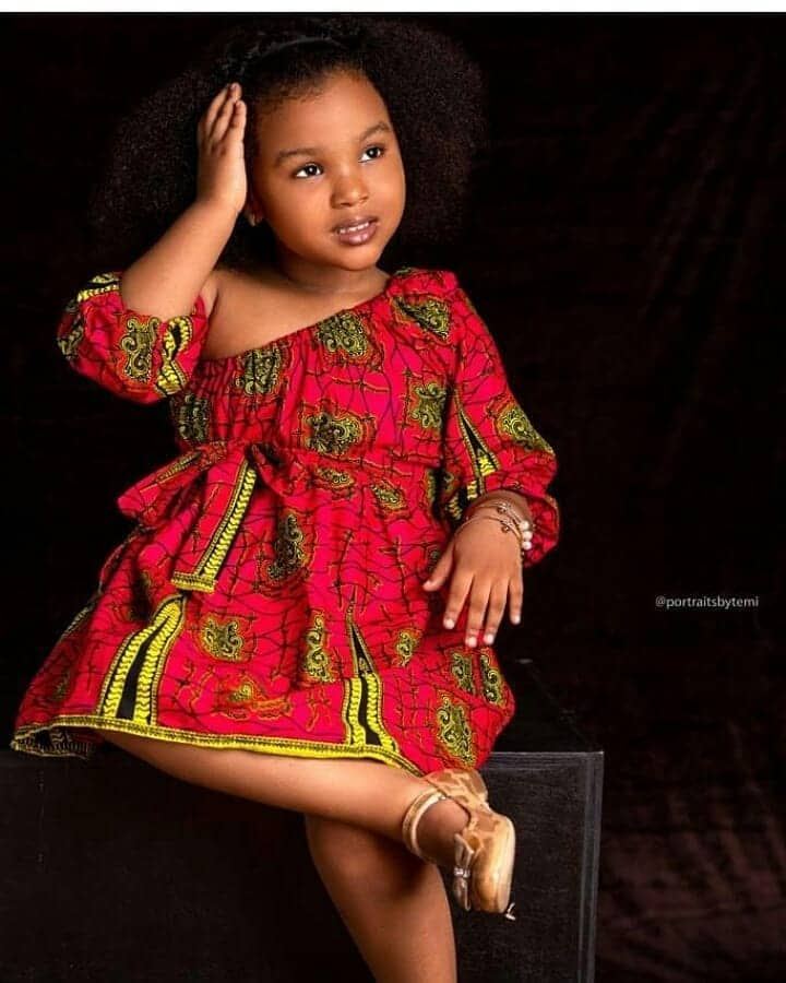 BEAUTIFUL ANKARA STYLES FOR KIDS 2019 23