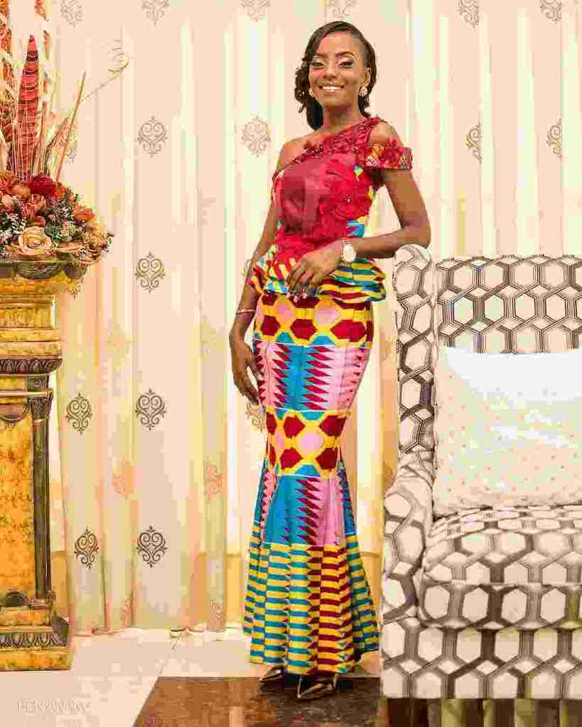 STYLISH AND GLAMOUROUS GHANA KENTE STYLES IN 2019 6