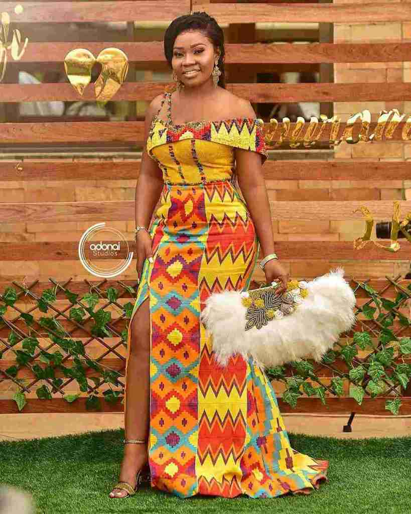 STYLISH AND GLAMOUROUS GHANA KENTE STYLES IN 2019 20