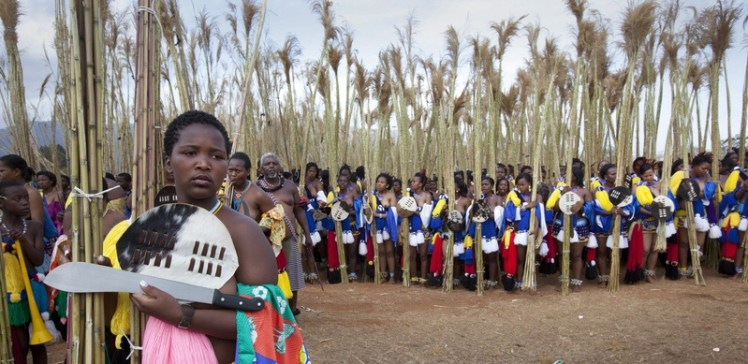 Reed Dance Festival- Swaziland