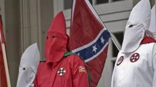kkk Cross Burning photo