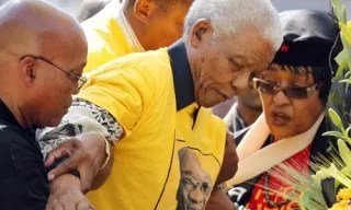 Nelson Mandela Winnie photo