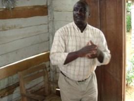 Bro. Ndoum pastor at Mile 20