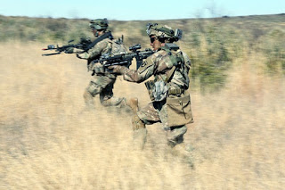 South African Special Force Brigade (Recce) operatives during a training