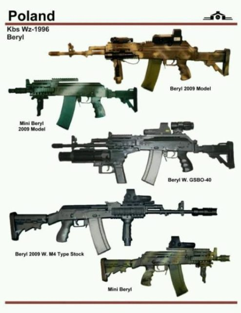 Nigeria to manufacture beryl assault rifles