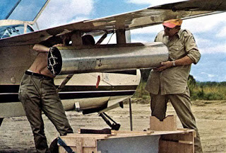 Installing a SNEB 68mm Matra rocket on a biafran baby