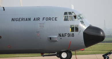 Nigerian Air Force reactivates C-130H Hercules