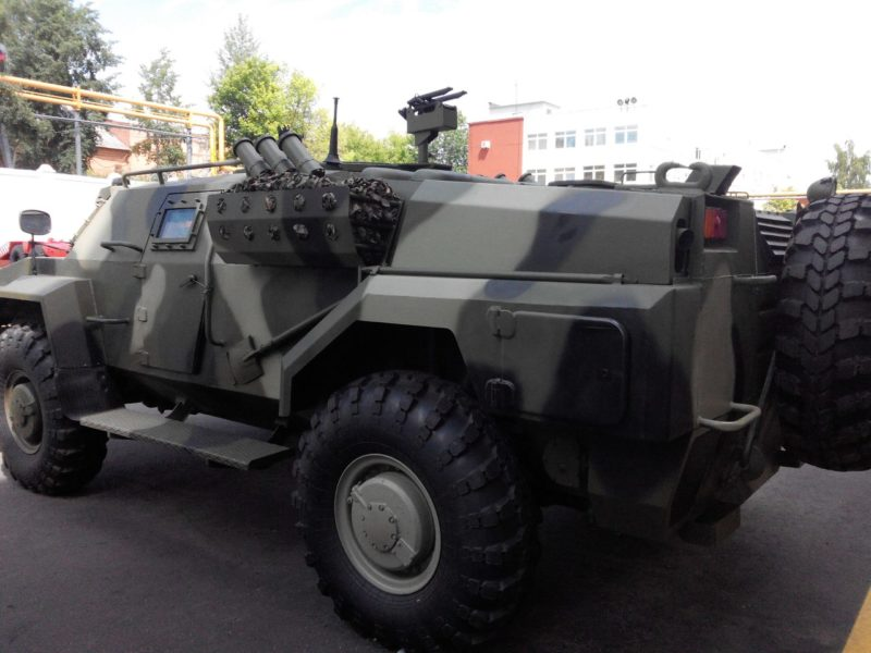 Unknown African Country Receiving Belarusian Caiman Armoured Reconnaissance Vehicle