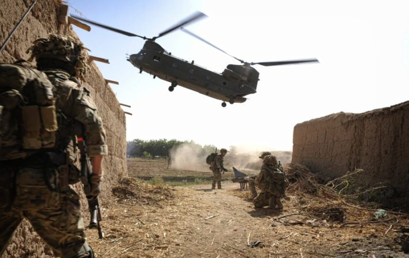 Royal Air Force Chinooks arrives Mali for Operation Barkhane