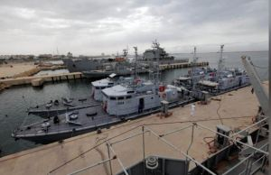 boats repaired by Italy handed over to the Libyan Navy