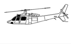 first picture of the nigerian army made helicopter