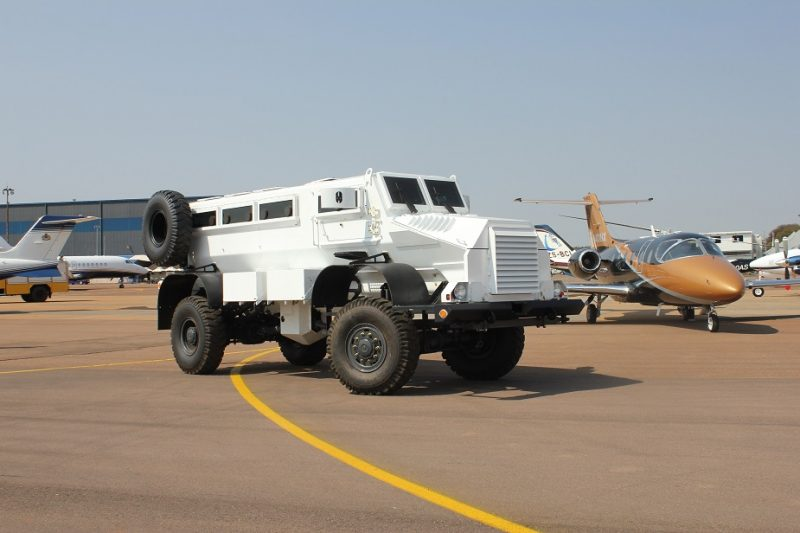 Somalian Army receives 68 donated Casspir MRAPS from Qatar