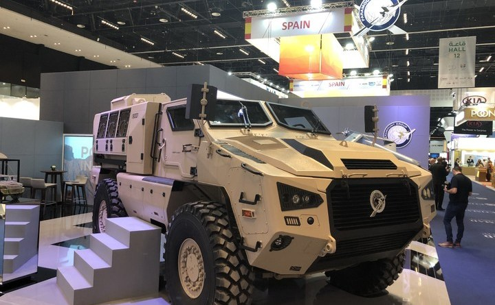 Mbombe 4 armoured vehicle 3