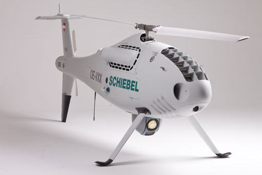 Schiebel Camcopter S-100 conducts successful flight trials in Nigeria