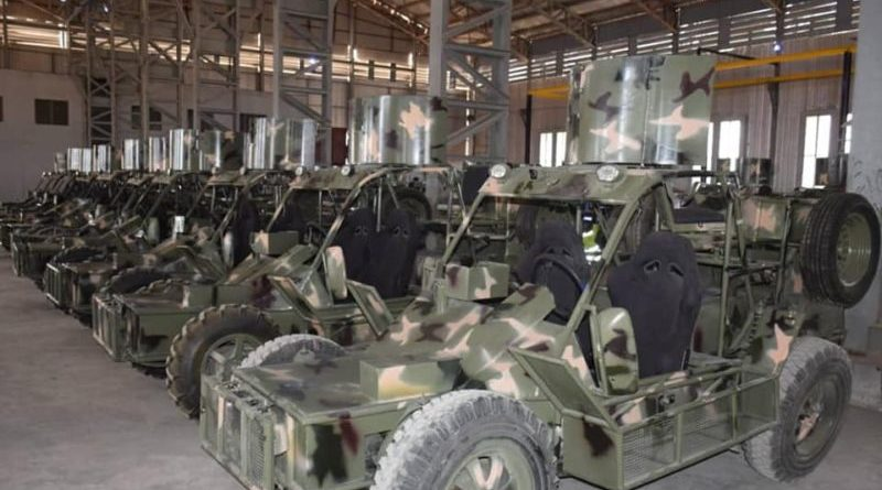 Nigerian Army locally made Infantry Patrol Vehicle (IPV)