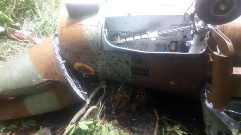 Cameroonian Military Harbin Z-9 crash, one killed